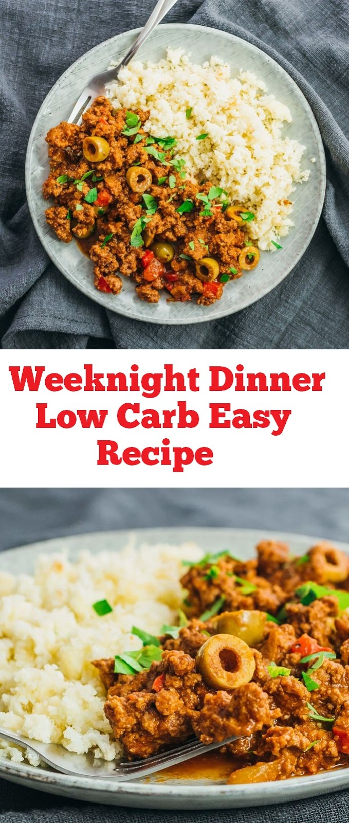 This Weeknight Dinner Low Carb Easy Recipe are Picadillo is Amazing flavor and it is a Paleo, Whole30, gluten-free, dairy-free and keto recipe to make for an easy weeknight dinner. From start to finish, you can have this low carb and healthy family dinner recipe ready in under an hour! #lowcarb #healthydinner #glutenfree #keto #ketodinner #ketogenic #lowcarbdinner #dinner #weeknightdinner #weeknight #dairyfree #paleo