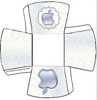 Apple Party Free Printable Boxes.