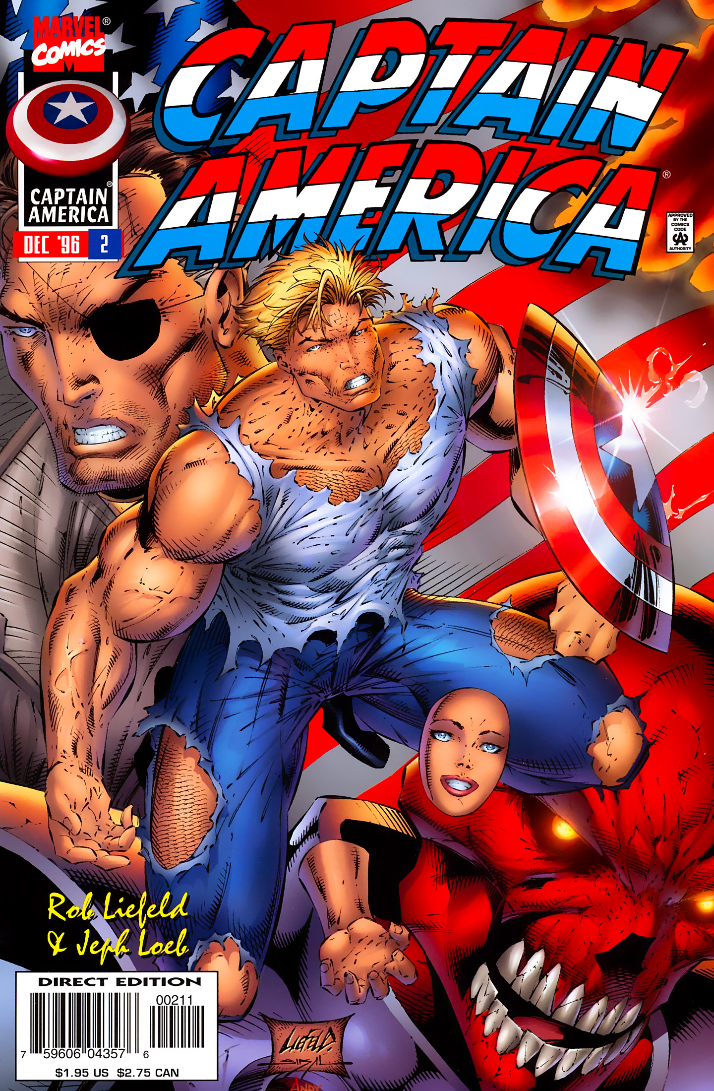 Captain America (1996) Issue #2 #2 - English 1