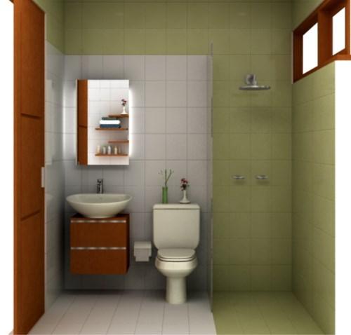 desain kamar mandi ukuran 2x1 meter