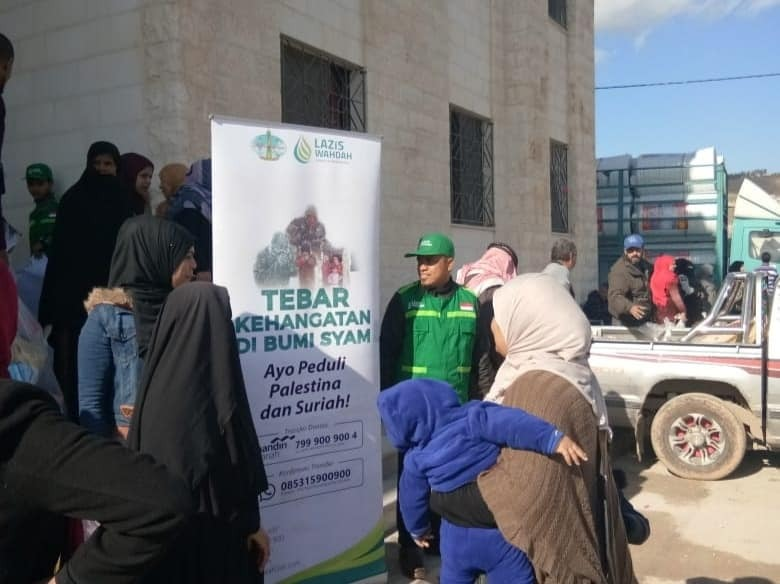 Musim Dingin Tiba, Ayo Bantu Muslim Negeri Syam