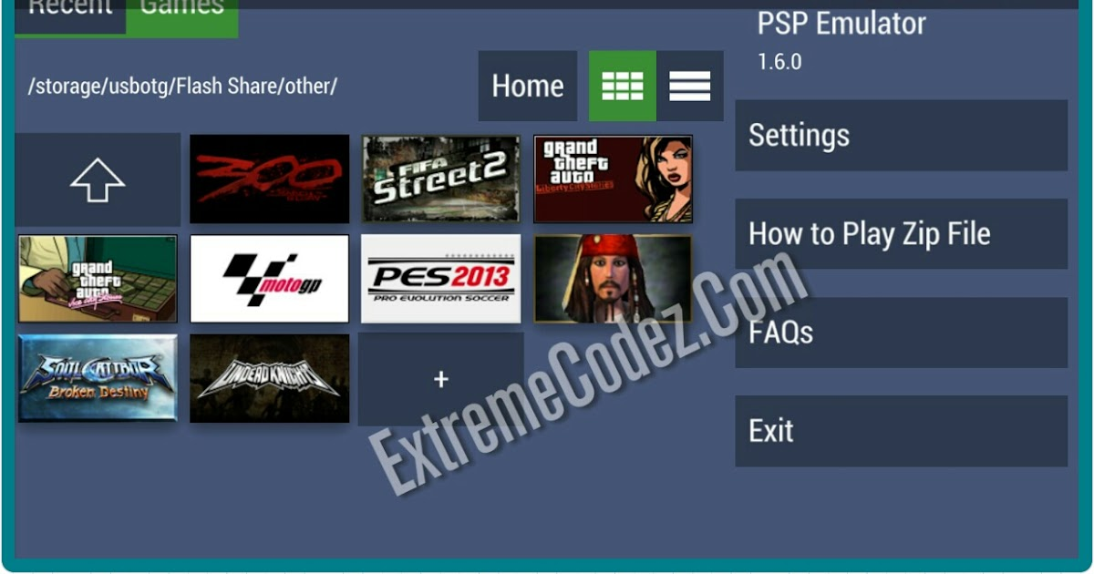 Emulator for PSP Games for Android - Free download and ...
