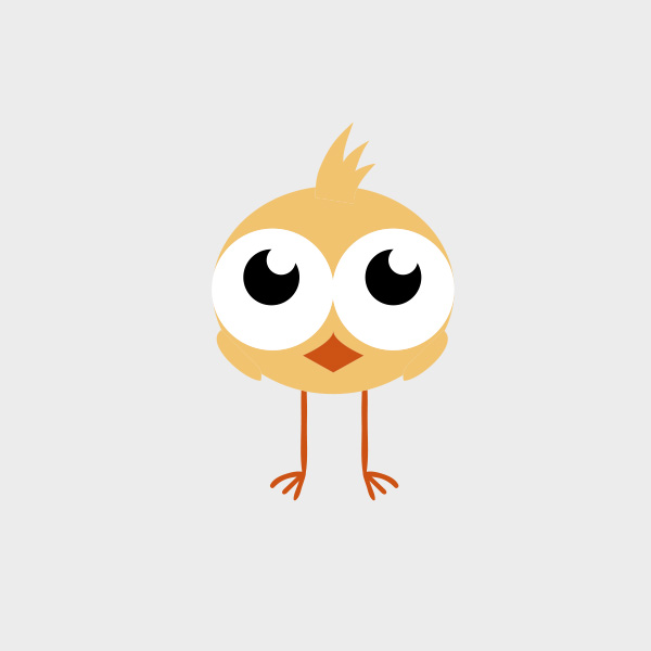 CUTE CHICK FREE VECTOR