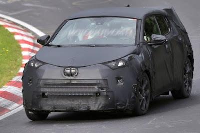 Toyota C-HR Redesign 2017