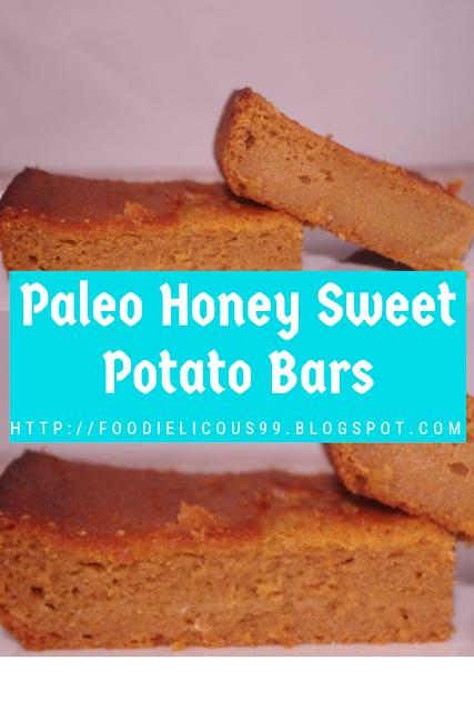 Paleo Honey Sweet Potato Bars ( Healthy Recipe )