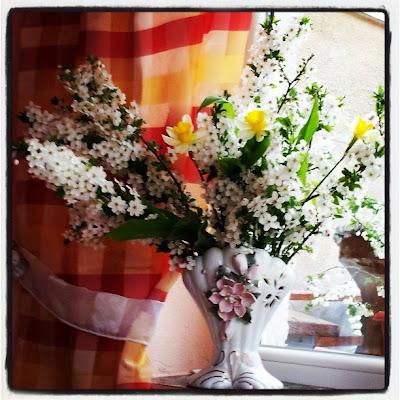 vaza cu flori de mar
