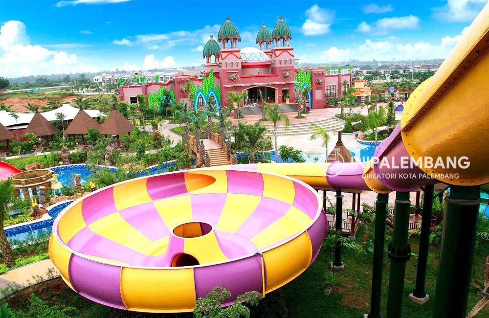 Fasilitas Amazing Waterpark Palembang