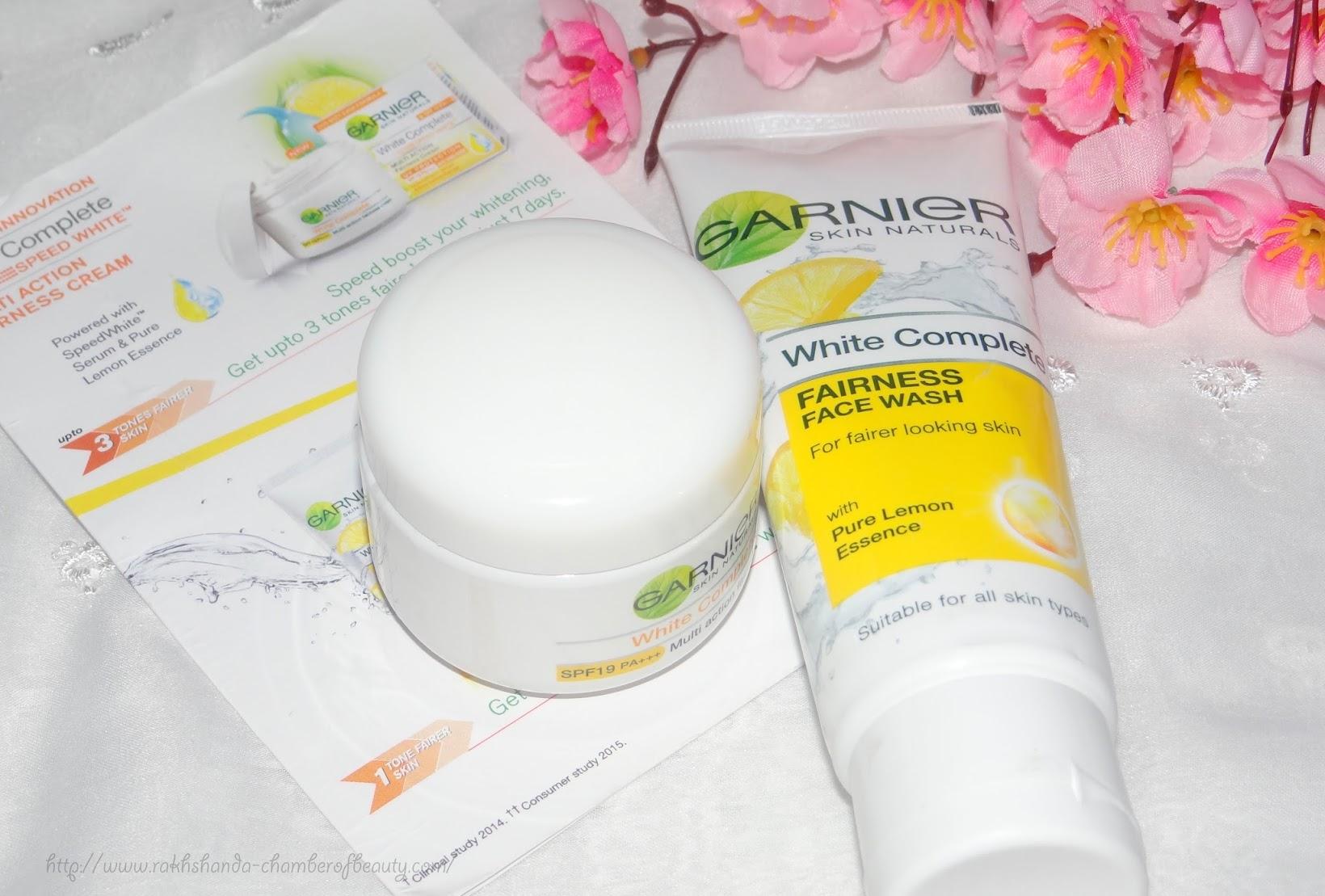 #7DayGarnierChallenge- Garnier White Complete Fairness Face Wash and Cream (review, photos, price), fairness cream, Indian beauty blogger, Chamber of Beauty