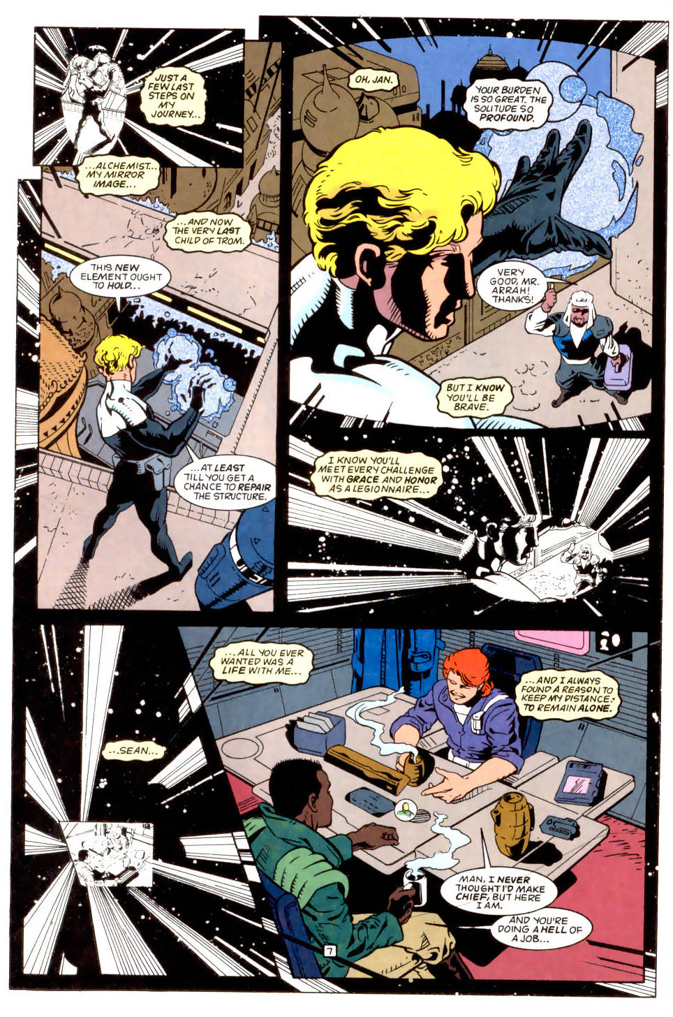 Legion of Super-Heroes (1989) 50 Page 7
