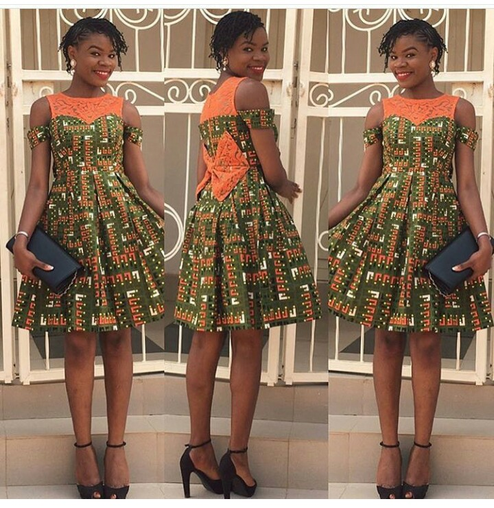 Top 10 Fantastic Kitenge Short Dresses..