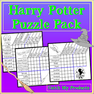 bundle of Harry Potter logic puzzles