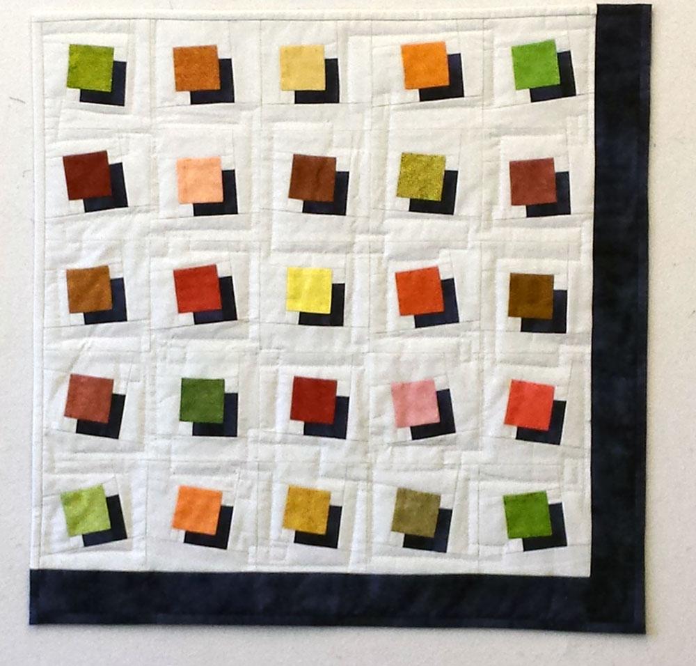 creabea-atelier: Decke mit Schattenwurf