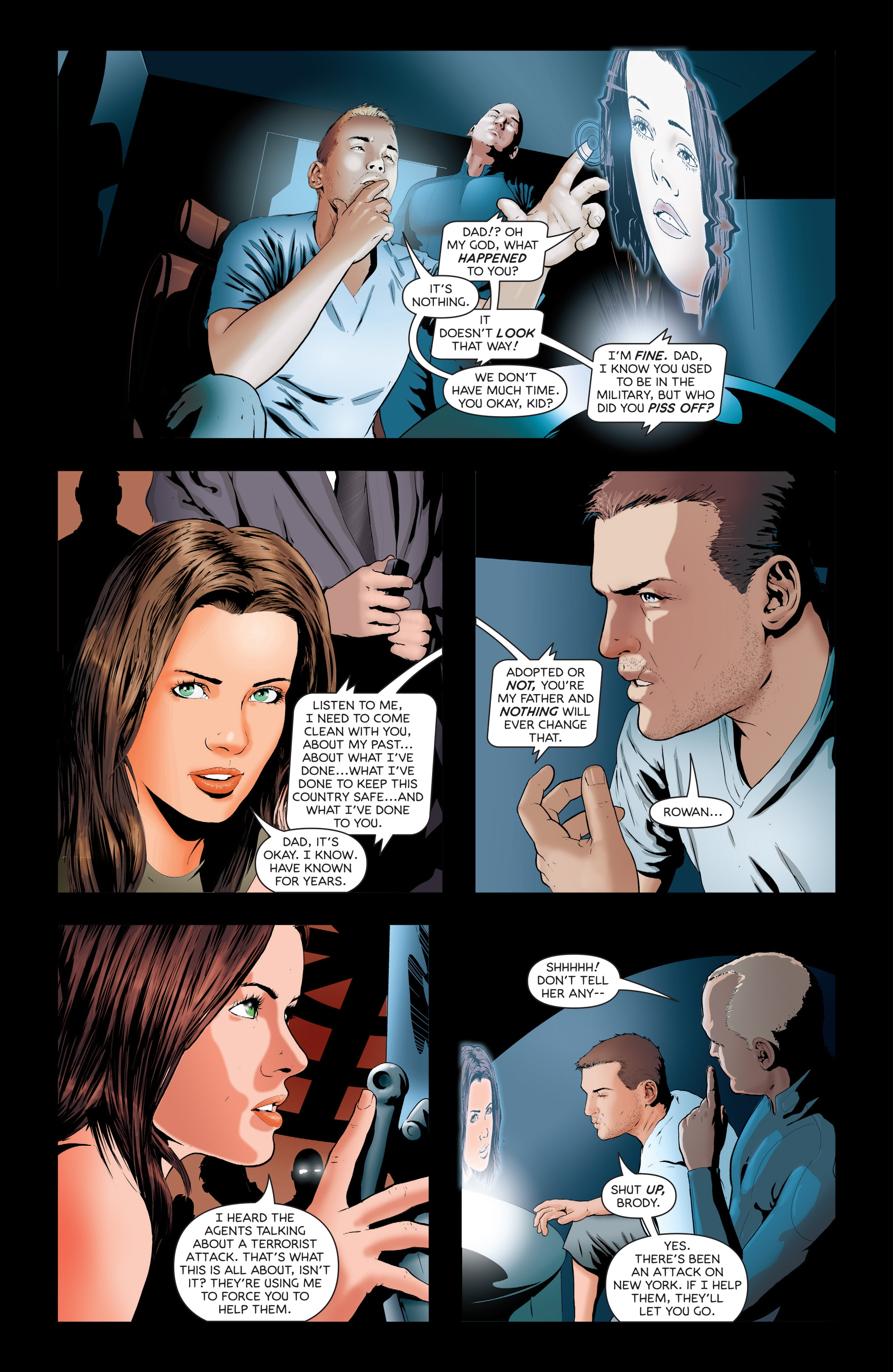 Read online Failsafe comic -  Issue #3 - 15