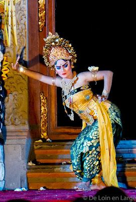 Lebong danse - Palais Ubud- Bali