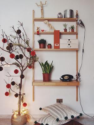 arbol de navidad original, ideas para decoración navideña