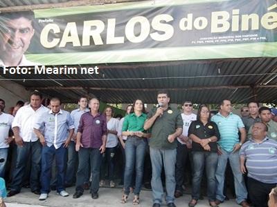 Resultado de imagem para imagens do prefeito de pio xii maranhão: Carlos Alberto Batalha