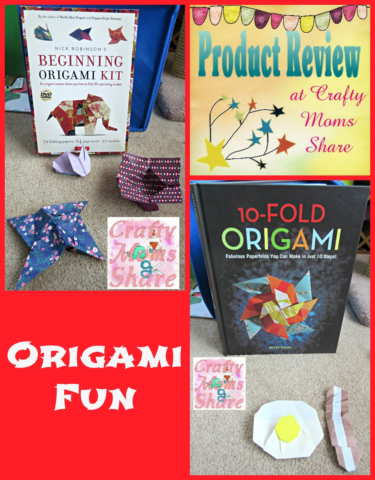 Download Origami Fun Kit for Beginners Dover Fun Kits Ebook Free ... | 1600x1253