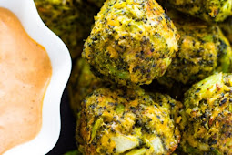 Broccoli Cheese Balls: Low Carb Keto