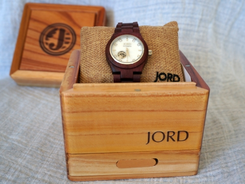 JORD wood watches presentation display box unique gift | AwayFromBlue