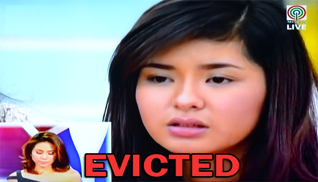 Loisa Andalio Evicted from PBB All In 13th and Final Eviction Night as of August 23, 2014