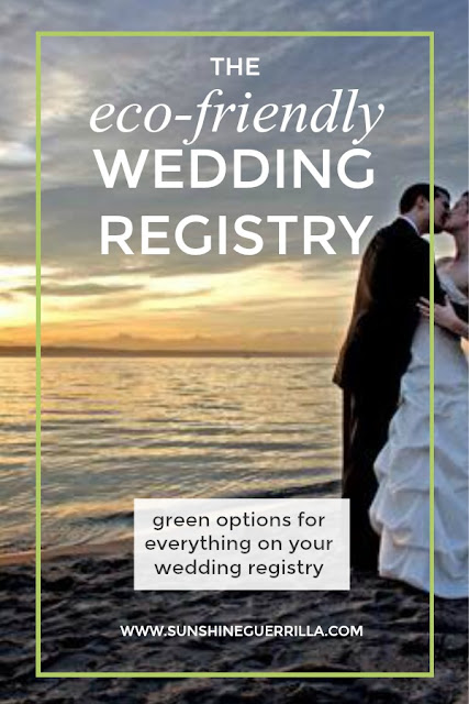 eco-friendly wedding on the beach