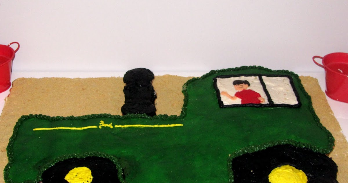 Melly S Mouthful Old Mcmelly S Farm Tractor Cake