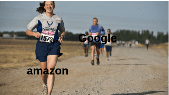 "Why is ""amazon"" searching result faster than ""Google"" ?"