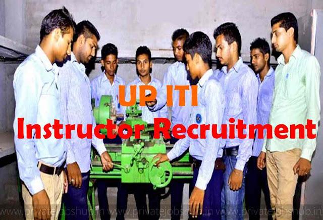 UP ITI Instructor Recruitment