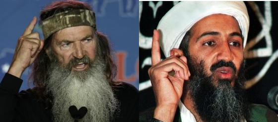 Phil Robertson and Osama
