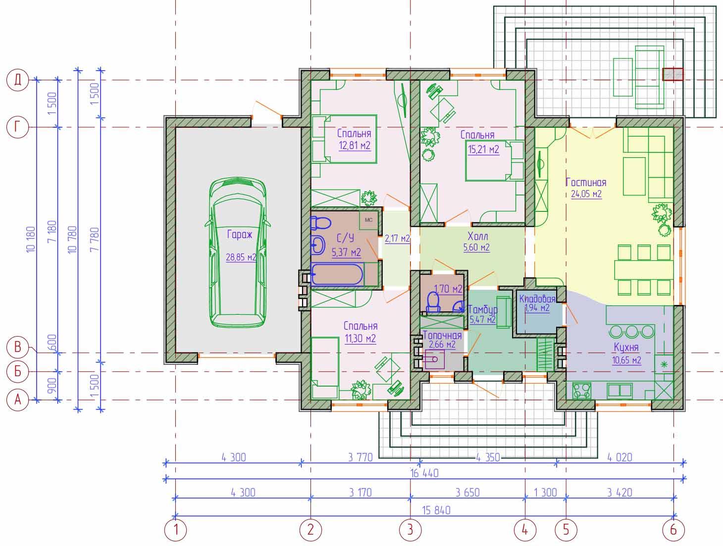 Готовые Проекты Одноэтажных Домов с Мансардой скачать
