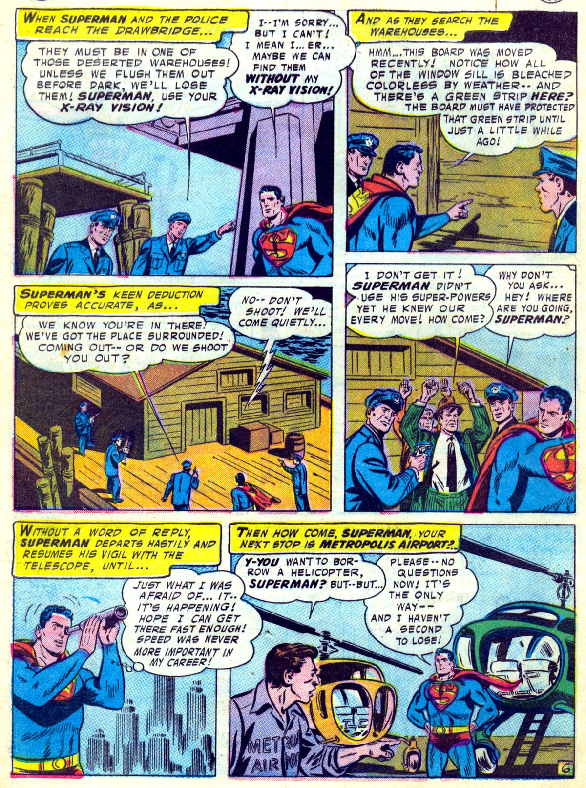 Read online Action Comics (1938) comic -  Issue #230 - 8