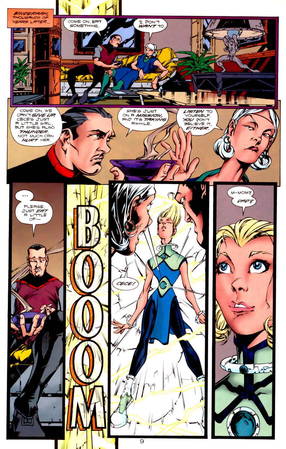 Legion of Super-Heroes (1989) 116 Page 9