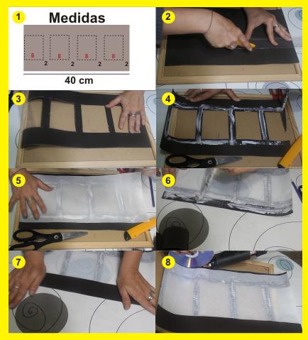 DIY Lámpara de cartón y papel