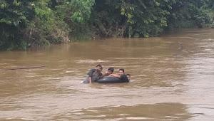 Breaking News : Bocah SD Dikabarkan Tenggelam di Sungai Muaro Sekalo