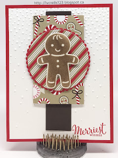 Linda Vich Creates: Christmas Crafting in Unseasonable November Heat. Cookie Cutter Christmas was used to create this fun Christmas card!