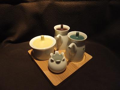 白山陶器 卓上調味料セット