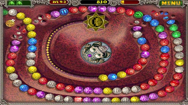 Download Zuma Deluxe PC Games Gameplay