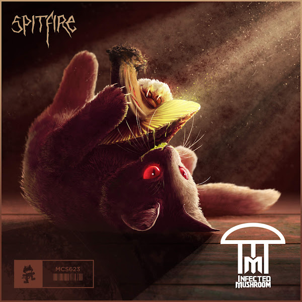 Infected Mushroom - Spitfire - Single Cover
