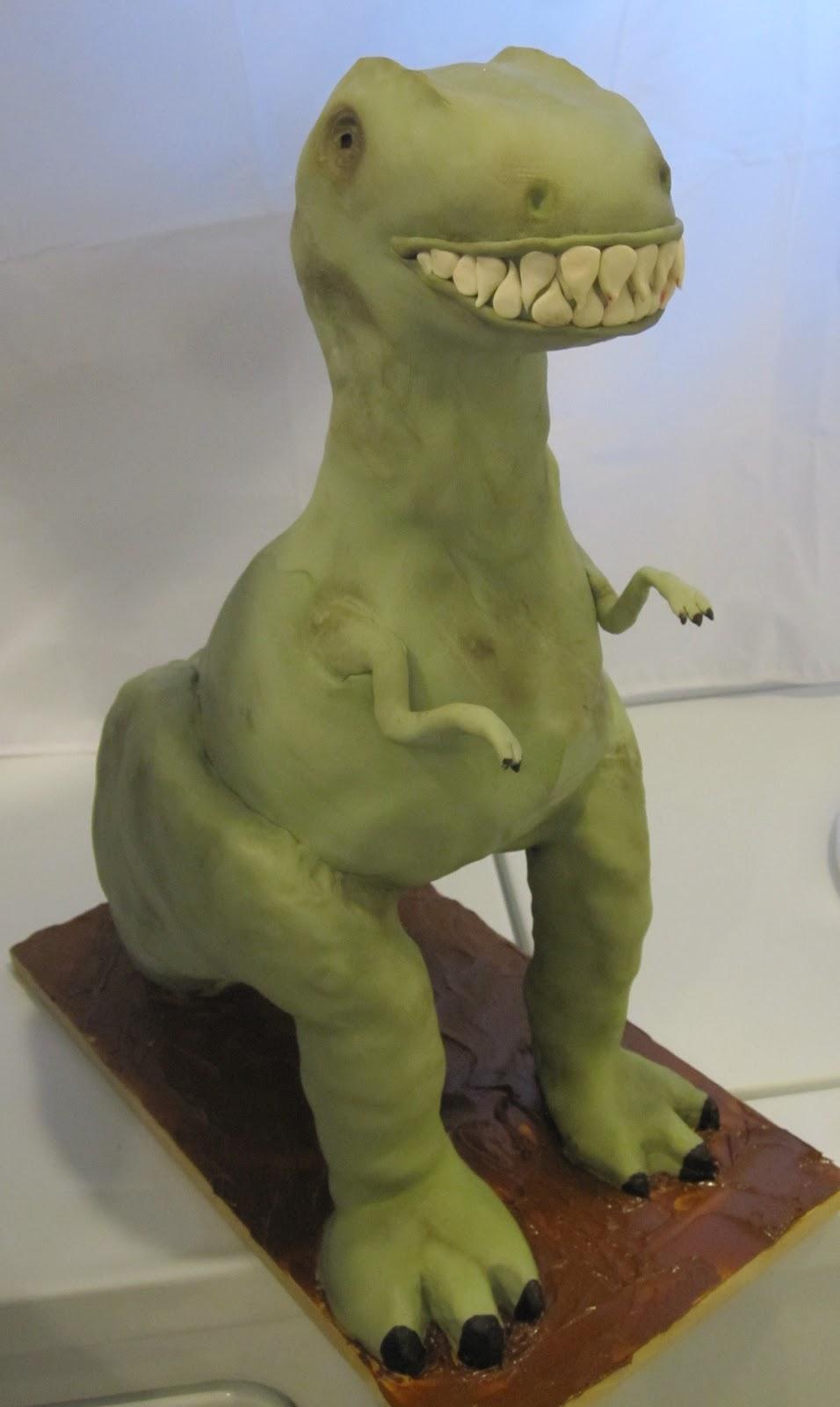T Rex Cake 3d Tutorial