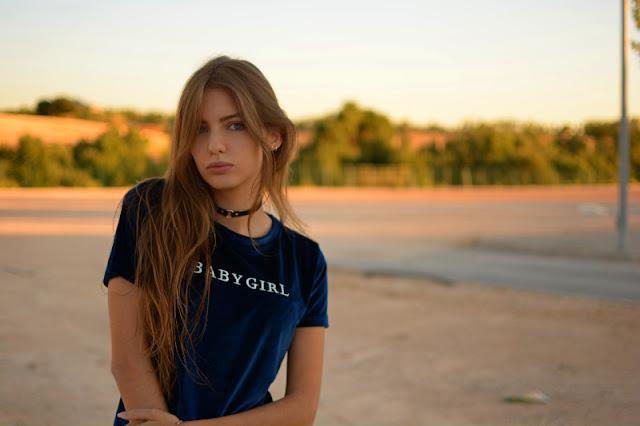 Sara Pericacho con camiseta de terciopleo