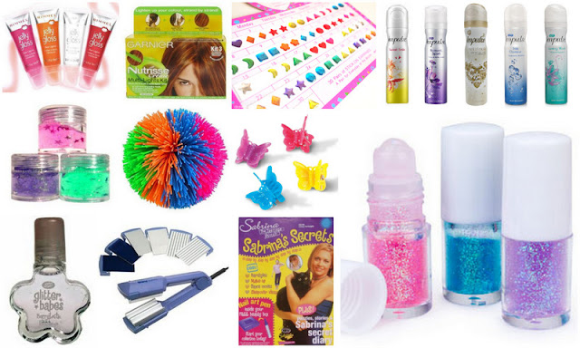 Beauty and makeup products from the 90s and 00s
