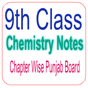 Pakistan Punjab Board Fully Solved Chapter Wise Notes