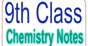 9th Class Chemistry Notes Punjab Board - Easy MCQs