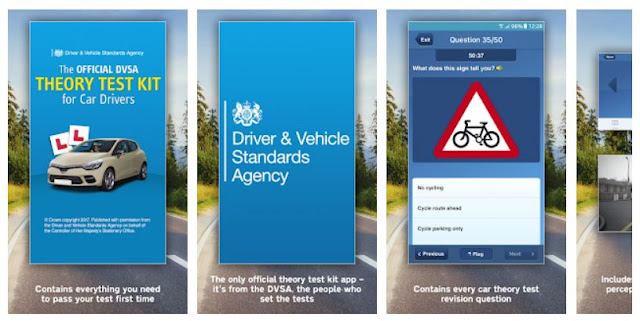 Download Official DVSA Theory Test Kit Mobile App
