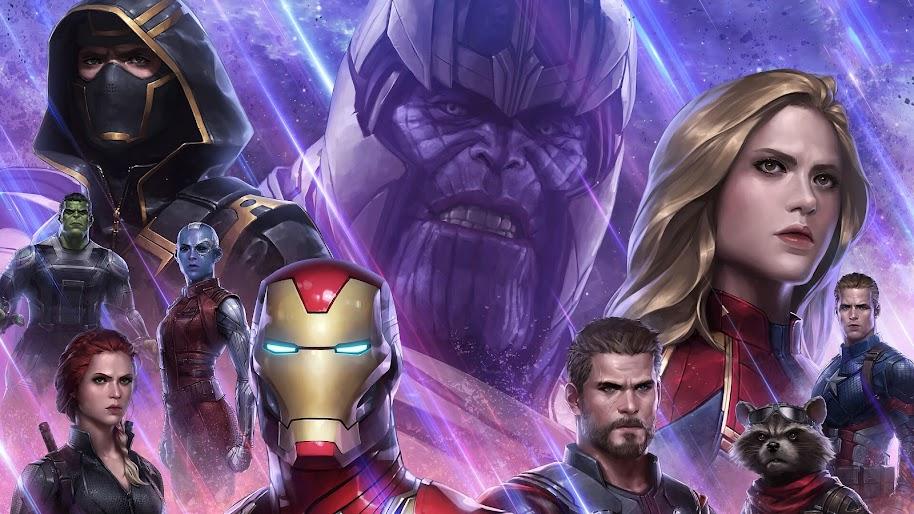 Avengers: Endgame, Characters, Art, 4K, #145