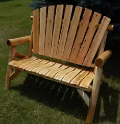 Moon Valley Adirondack Settee