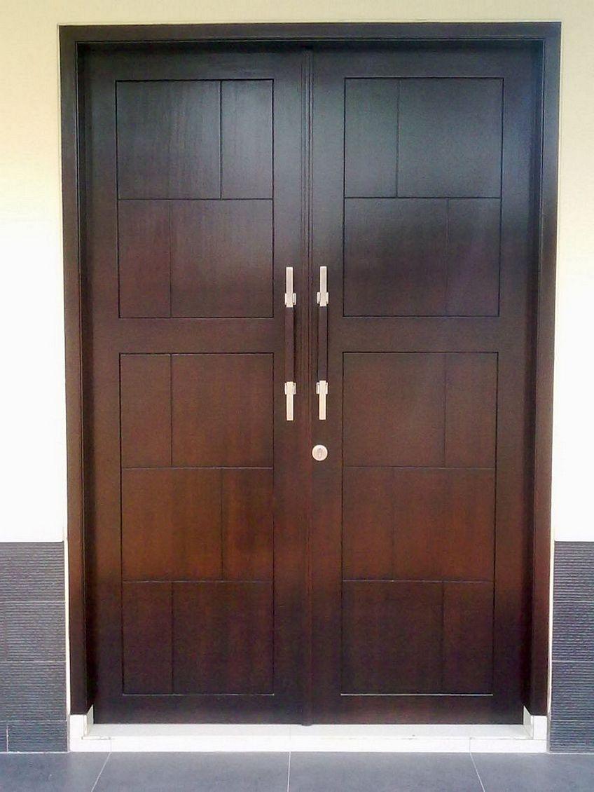 pintu depan rumah modern 1