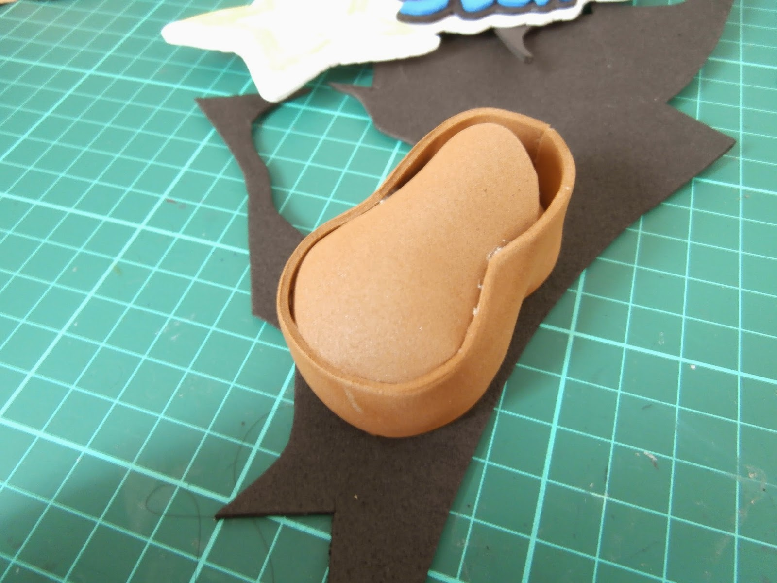 DIY mocasín foamy