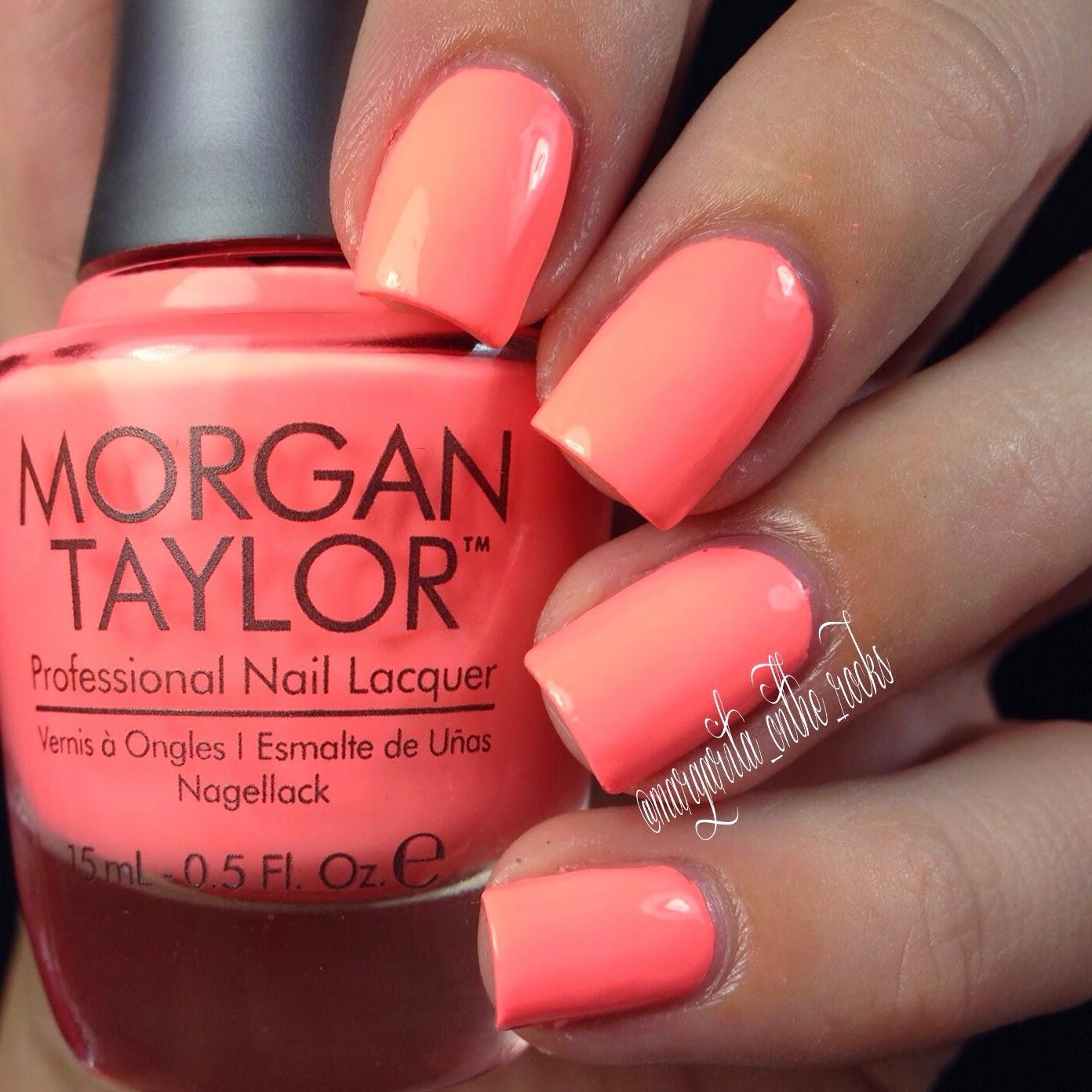 Morgan Taylor 2014 Summer Neon Collection - Polish Etc.