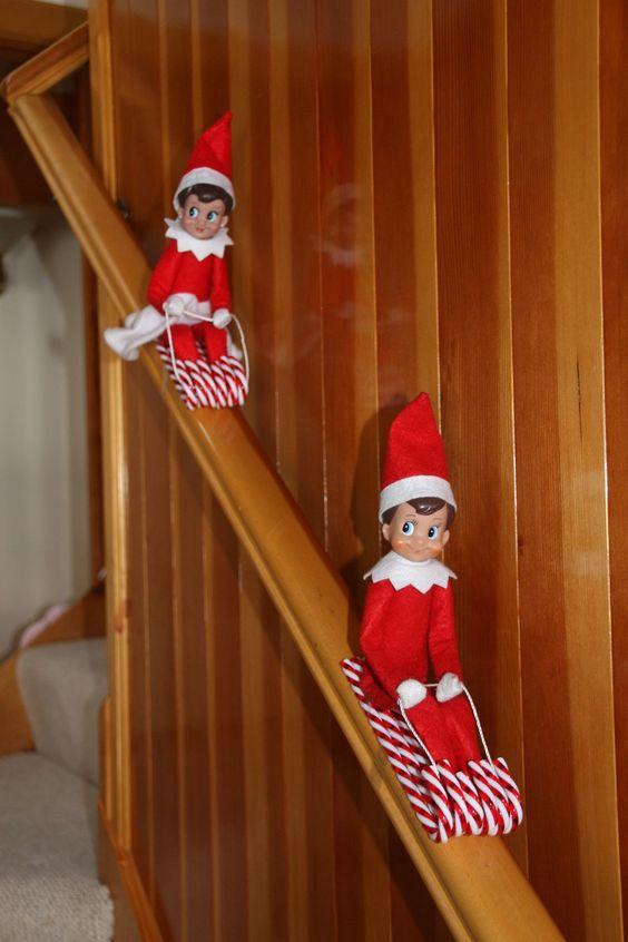 Elf On The Shelf Nail Design